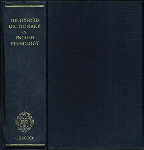 9781135293116: THE OXFORD DICTIONARY OF BRITISH ETYMOLOGY.