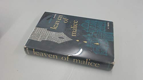 9781135314835: Leaven of Malice