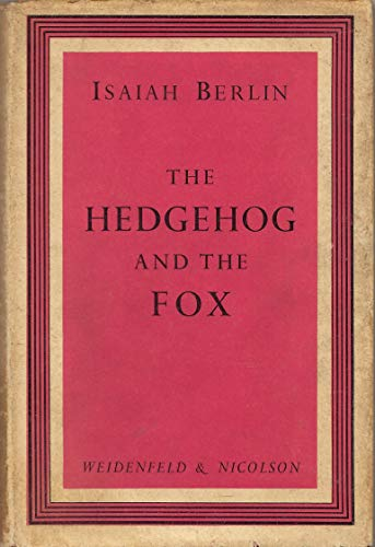 9781135328054: The hedgehog and the fox: An essay on Tolstoy's view of history