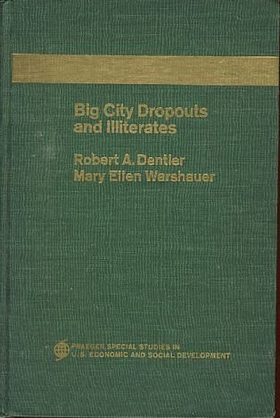 9781135336707: Big City Dropouts and Illiterates (Praeger Special Studies in US Economic and Social development)