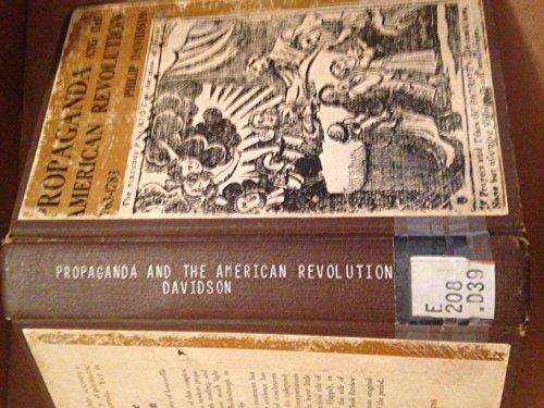 9781135343392: Propaganda and the American Revolution 1763-1783