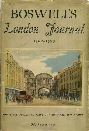 9781135401757: Boswell's London Journal, 1762 - 1763