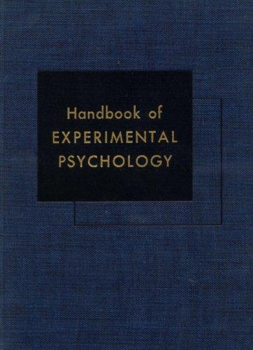 9781135415297: Handbook of Experimental Psychology.