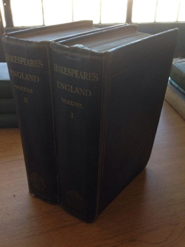 Shakespeare's England ; An Account of the: unknown
