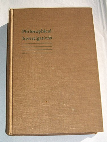 9781135571283: Philosophical Investigations