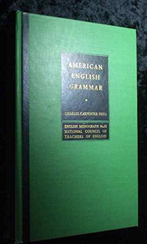 9781135635428 American English Grammar The Grammatical Structure