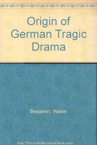 9781135672669: Origin of German Tragic Drama