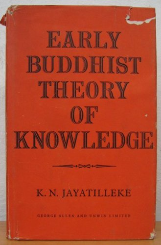 9781135733117: Early Buddhist Theory of Knowledge