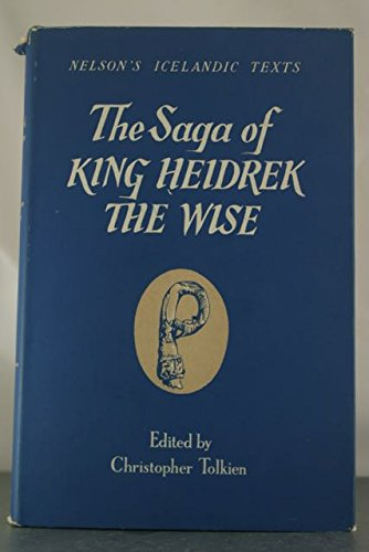 9781135745134: The Saga of King Heidrek the Wise (Saga Heidreks Konungs Ins Vitra)