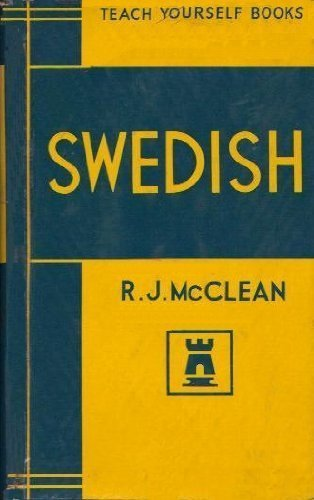 9781135748821: Teach yourself Swedish;: A grammar of the modern language