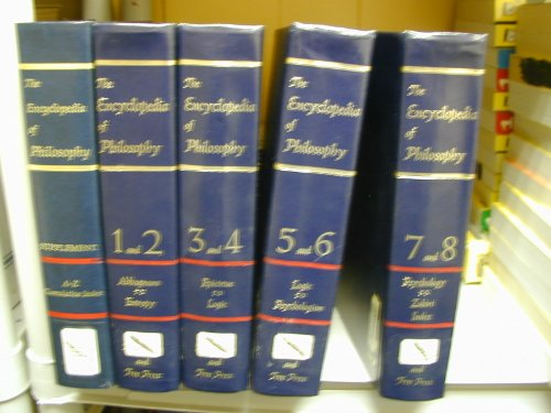 9781135753313: The Encyclopedia of Philosophy (8 Volumes in 4 Books)