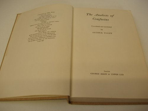 9781135771423: THE ANALECTS OF CONFUCIUS