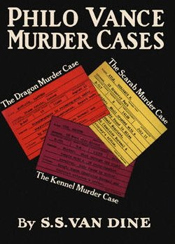 9781135773670: Philo Vance Murder Cases: The Scarab Murder Case, The Kennel Murder Case, The Dragon Murder Case