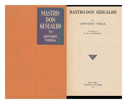 9781135774202: Mastro-Don Gesualdo