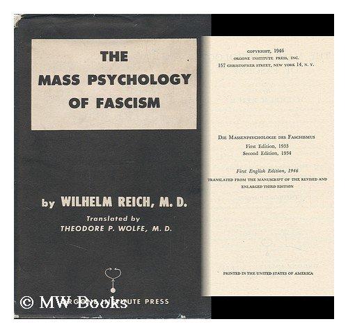 9781135788551: The mass psychology of fascism,