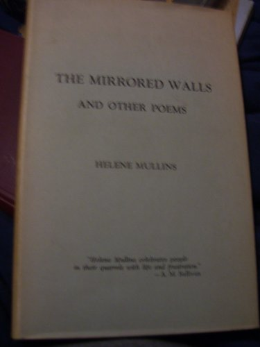 9781135792442: The Mirrored Walls and Other Poems [Signed]