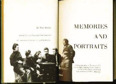 9781135800734: Memories and Portraits