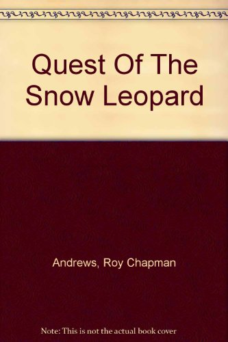 9781135843748: Quest Of The Snow Leopard