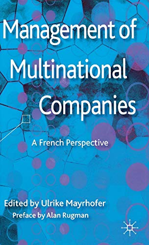 9781137023889: Management of Multinational Companies: A French Perspective