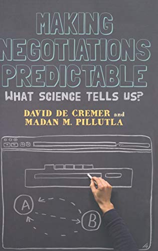 9781137024787: Making Negotiations Predictable: What Science Tells Us