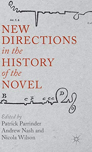 9781137026972: New Directions in the History of the Novel
