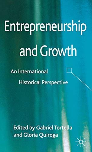 9781137033345: Entrepreneurship and Growth