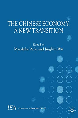 9781137034281: The Chinese Economy: A New Transition (International Economic Association Series)