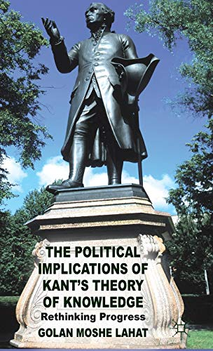 The Political Implications of Kant's Theory of: Lahat, Golan Moshe