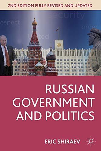 9781137269584: Russian Government and Politics (Comparative Government and Politics)