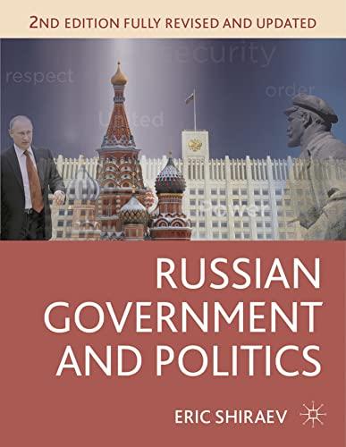 9781137269591: Russian Government and Politics (Comparative Government and Politics)