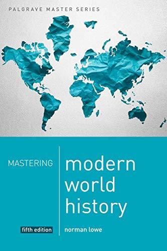 9781137276940: Mastering Modern World History (Palgrave Master Series)