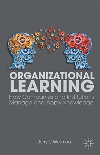 Organizational Learning: How Companies and Institutions Manage: Wellman, Jerry L.