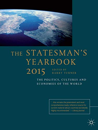 Statesman's Yearbook (Hardcover): Barry Turner