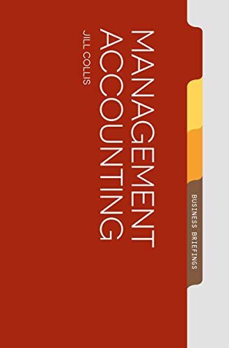 9781137335890: Management Accounting (Palgrave Business Briefing)