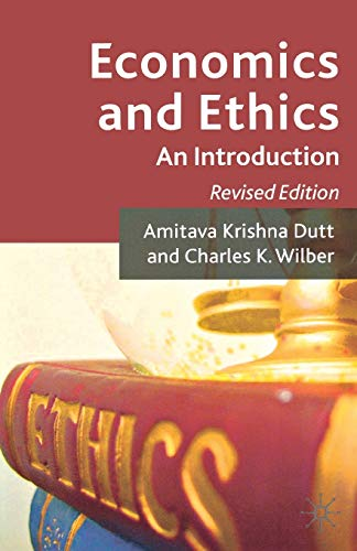 9781137347558: Economics and Ethics: An Introduction