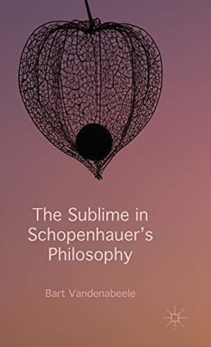 9781137358684: The Sublime in Schopenhauer's Philosophy