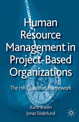 Human resource management in project-based organizations.: Bredin, Karin; Söderlund,