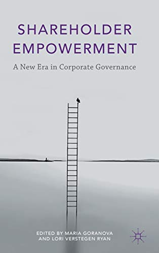 9781137376442: Shareholder Empowerment: A New Era in Corporate Governance