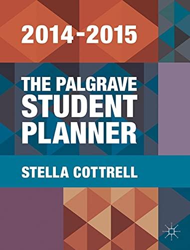 9781137399991: The Palgrave Student Planner 2014-15 (Palgrave Study Skills)