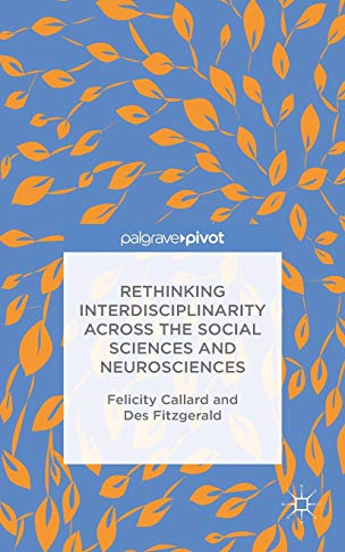 9781137407955: Rethinking Interdisciplinarity Across the Social Sciences and Neurosciences