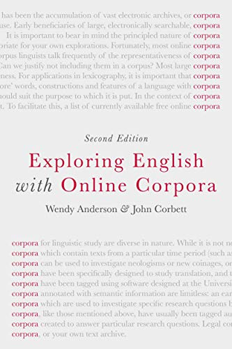 9781137438096: Exploring English with Online Corpora