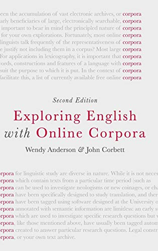 9781137438126: Exploring English with Online Corpora