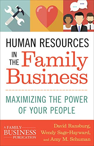 9781137444264: Human Resources in the Family Business: Maximizing the Power of Your People (A Family Business Publication)
