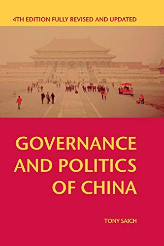 9781137445278: Governance and Politics of China