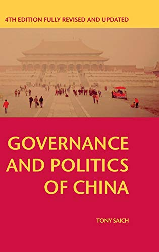 9781137445285: Governance and Politics of China