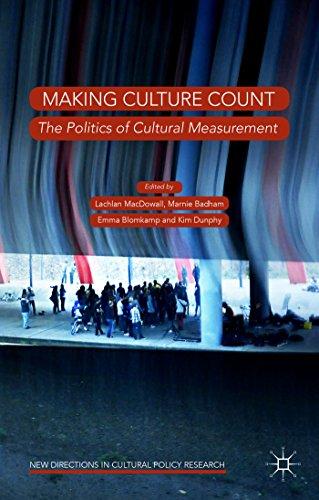 9781137464576: Making Culture Count: The Politics of Cultural Measurement