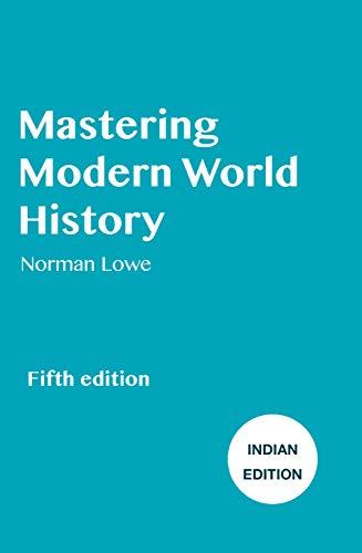 9781137483645: Mastering Modern World History
