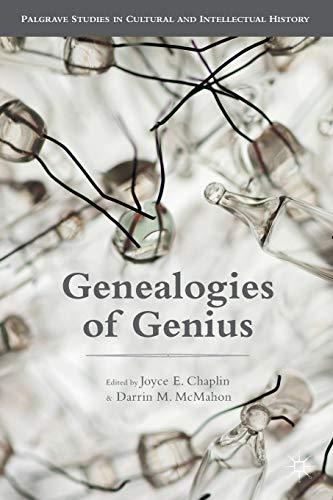 9781137497642: Genealogies of Genius