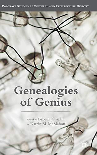 9781137497659: Genealogies of Genius