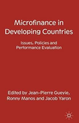 9781137498380: Microfinance in Developing Countries: Issues, Policies and Performance Evaluation